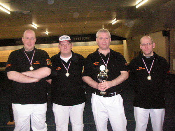 OGIO-1 Nederlands kampioen compound teams klasse A